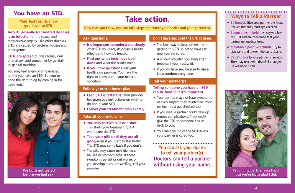 STD: You and Others - Pamphlet - ETR