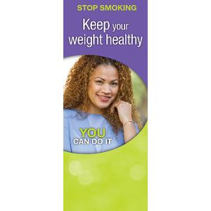 Stop Smoking: Keep Your Weight Healthy (Bilingual)