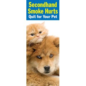 Secondhand Smoke Hurts: Quit for Your Pet
