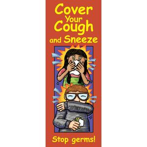 Cover Your Cough and Sneeze: Stop Germs!