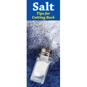 Salt: Tips for Cutting Back
