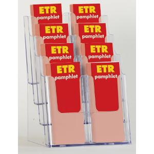 8-Slot Pamphlet Display Rack