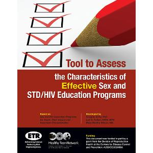 Tool to Assess the Characteristics of Effective Sex & STD/HIV Education Programs