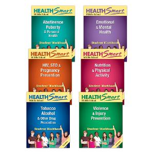 HealthSmart Middle School Student Workbooks Complete Set of 30 each