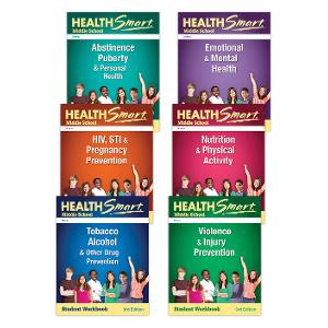 HealthSmart Middle School: Complete Set of Student Workbooks, 3d Ed