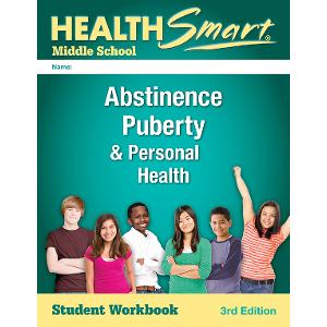 Digital License for HealthSmart Middle School: Abstinence, Puberty & Personal Health Workbook