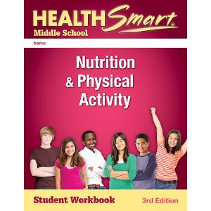 Digital License HealthSmart Middle School: Nutrition & Physical Activity Workbook