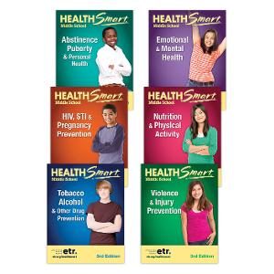 HealthSmart Middle School: Complete Set, 3d Ed