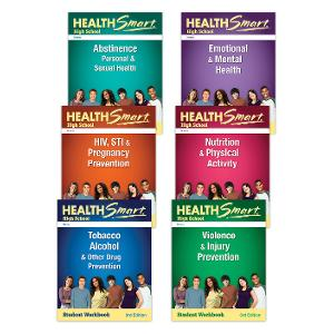 HealthSmart High School: Complete Set of Student Workbooks, 3d Ed