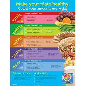 MyPlate Wall-Size Poster (Laminated)