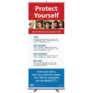 STD: Protect Yourself Banner