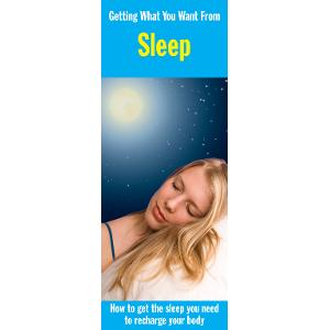 Getting What You Want from Sleep
