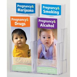Pregnancy & Substance Use SET with rack
