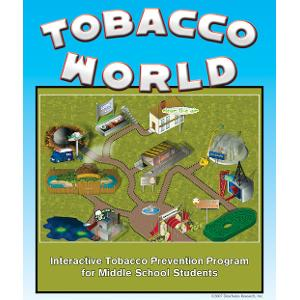 Tobacco World: Interactive Tobacco Prevention Program for Middle School Students (Grades 5-9)