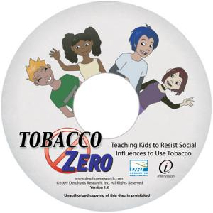 Tobacco Zero CDs (Gr. 5-9) (set of 5)