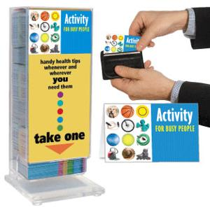 Activity for Busy People Pocket Guide Display Rack