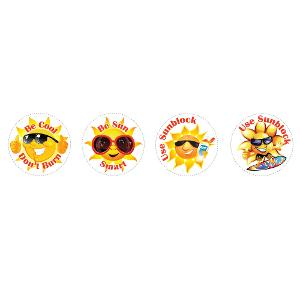 Sun Care Sticker Series
