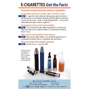 E-Cigarettes: Get the Facts (Fact Card)