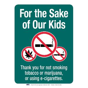 For the Sake of Our Kids: Thank You for Not Smoking