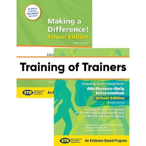 NEW PARTICIPANT: Making a Difference (MAD) / Promoting Health Among Teens- Abstinence Only (PHAT-AO) Training of Trainers (TOT)