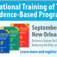 Evidence-Based Programs Training of Trainers