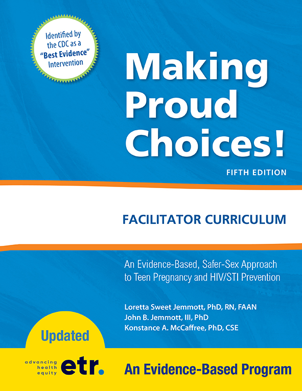 Making Proud Choices! Facilitator Curriculum Cover