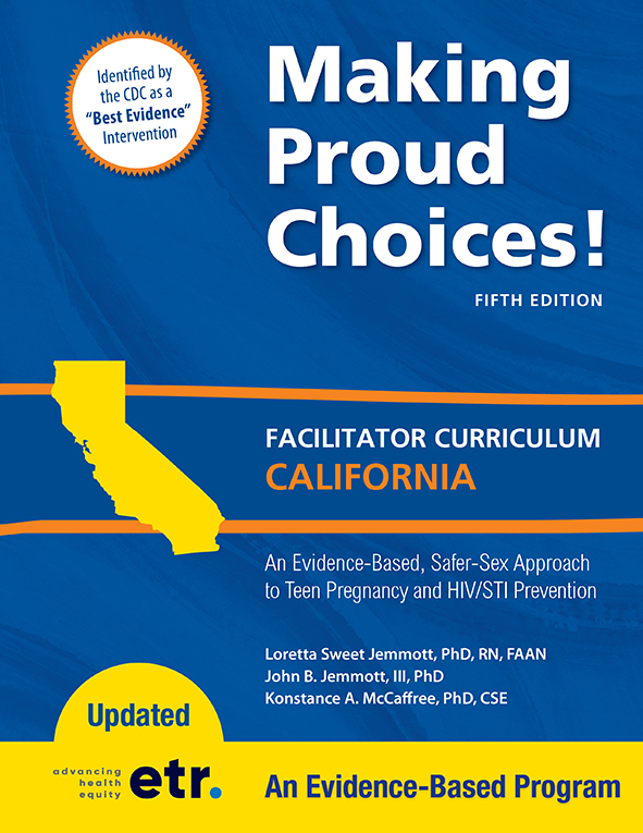 Making Proud Choices! California Edition Cover