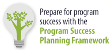 Prepare for program success with the Program Success Planning Framework
